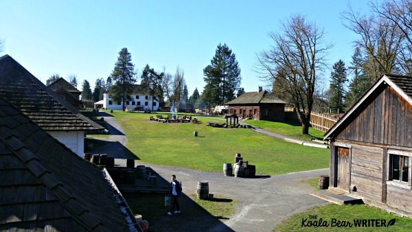 A view from the walls of Fort Langley National Historic Site, BC (one of our favourite BC historic sites)