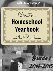 Create a Homeschool Yearbook with Picaboo