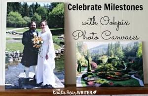 Celebrate Milestones with Ookpix Photo Canvases