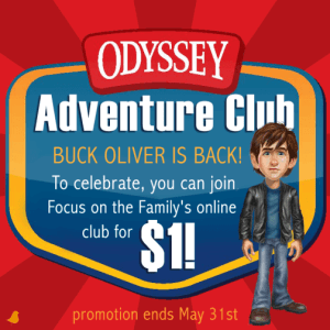 """Join the Odyssey Adventure Club for a """"Buck"""" (Plus a Summer Challenge)"""