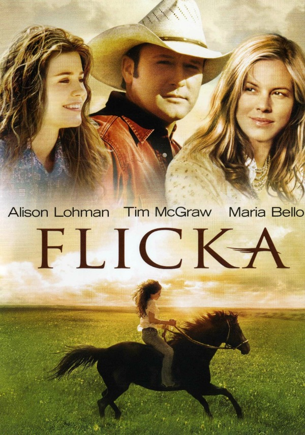 Flicka movie starring Tim McGraw - one of my favourite father-daughter movies
