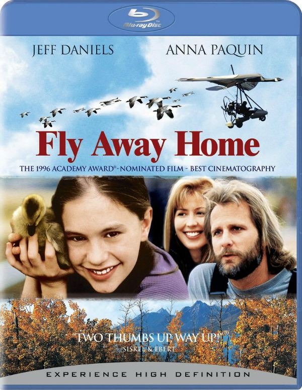 Fly Away Home - one of my favourite father-daughter movies