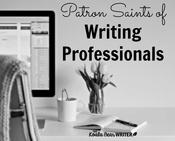 Patron Saints of Writing Professionals