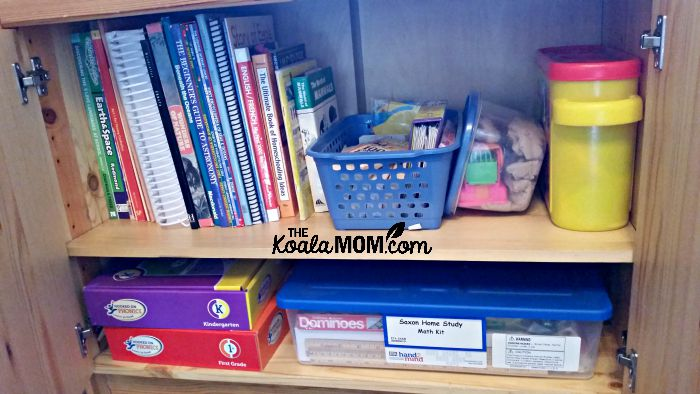 Homeschool books and supplies