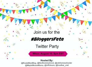 RSVP for the #BloggersFete Twitter Party!