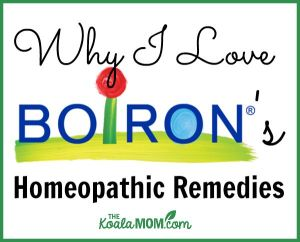 Why I Love Boiron's Homeopathic Remedies
