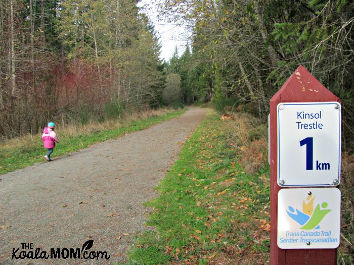 Kinsol Trestle Trail on Vancouver Island