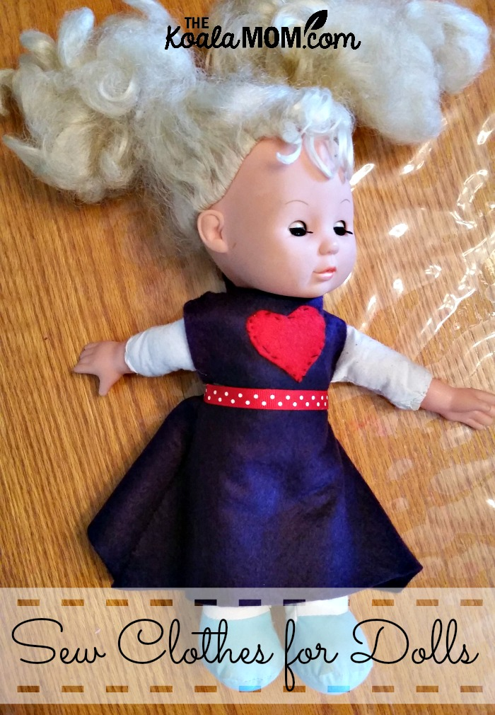 Sew Clothes and Accessories for Dolls and Stuffies