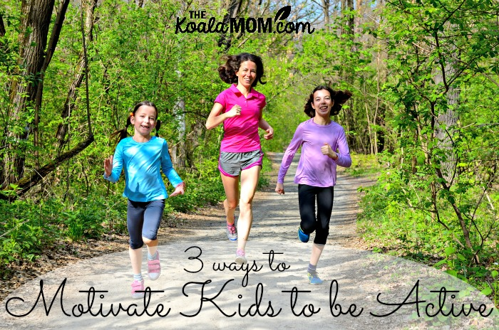 3 ways to motivate kids to be active by author and speaker Kimberley Payne