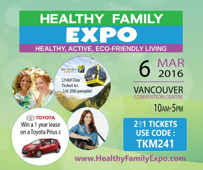 Healthy Family Expo two-for-one code