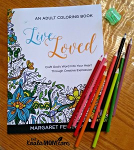 Live Loved: An Adult Colouring Book