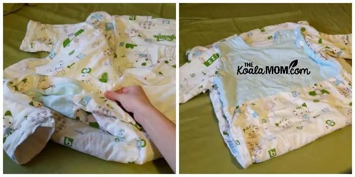 Kawaii sleep sack for kids 0-4