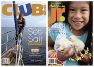 Free Clubhouse Magazine Trial from Focus on the Family