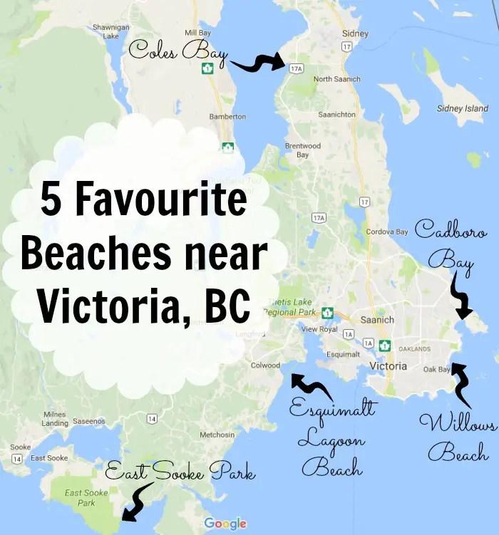 5 favourite beaches near Victoria, BC