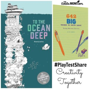 Get Creative with Colouring & Writing Prompts for the Whole Family!