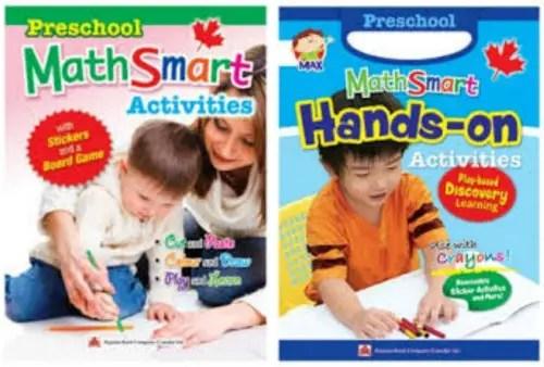 Preschool MathSmart activity books