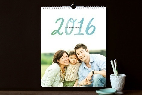 Personalized Minted photo calendar