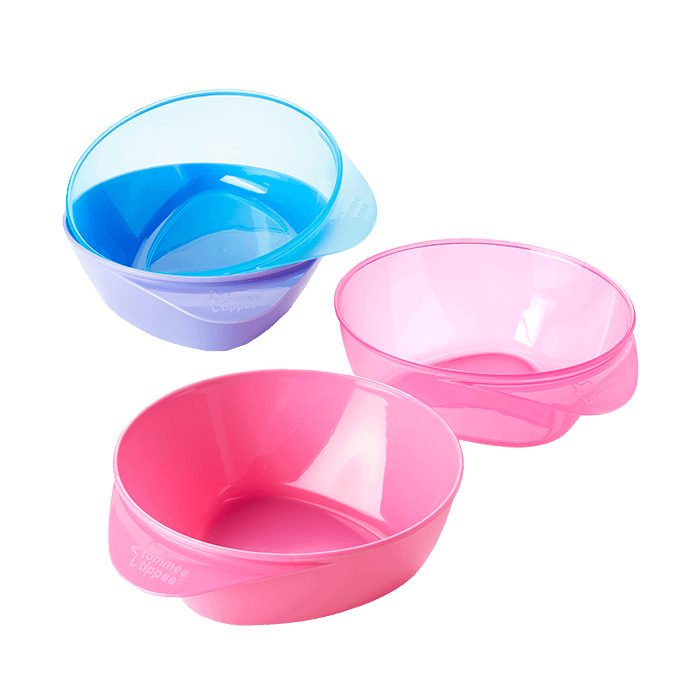 2 easi-scoop Tommee Tippee bowls