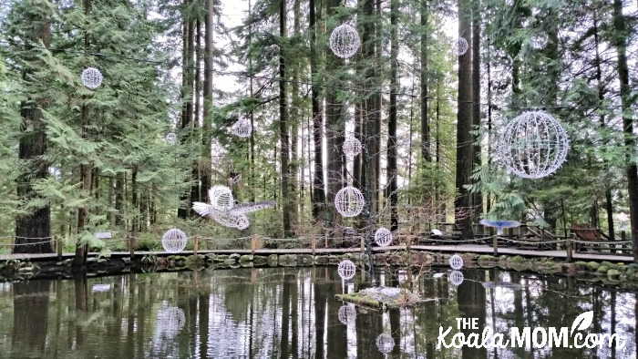 Canyon Lights at Capilano Suspension Bridge Park - one of our favourite family Christmas activities in Vancouver