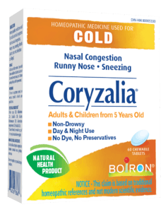 Boiron Homeopathic Cold Remedies help us survive the winter