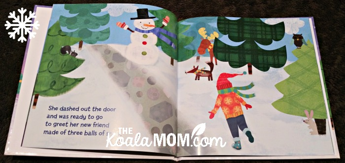 Jade's Christmas Snowman - personalized Christmas book from I See Me!