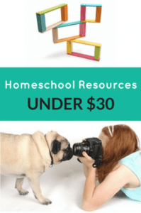 Homeschool Resources Under $30 from Educents
