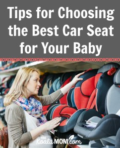 Tips for Choosing the Best Car Seat for Your Baby