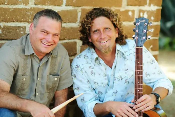 The men behind the kids' band Hullabaloo: Steve and Brendan