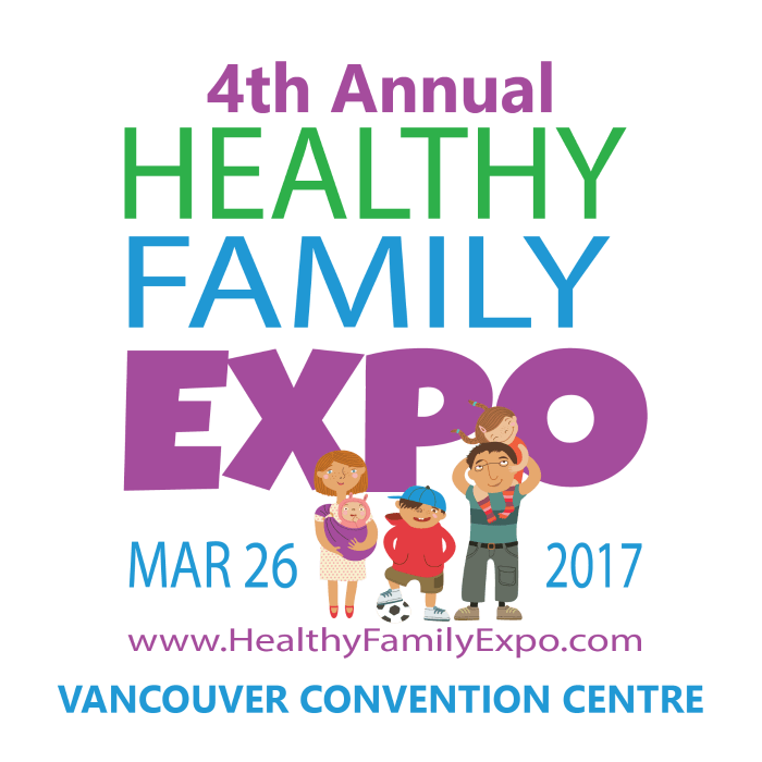 The 4th annual Healthy Family Expo is coming up on March 26, 2017!