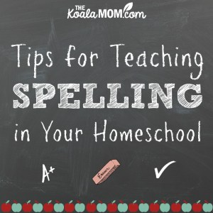 A+ Tips for Teaching SPELLING in Your Homeschool