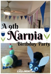 Sunshine's 9th Narnia Birthday Party
