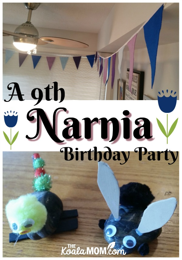 A 9th Narnia Birthday Party
