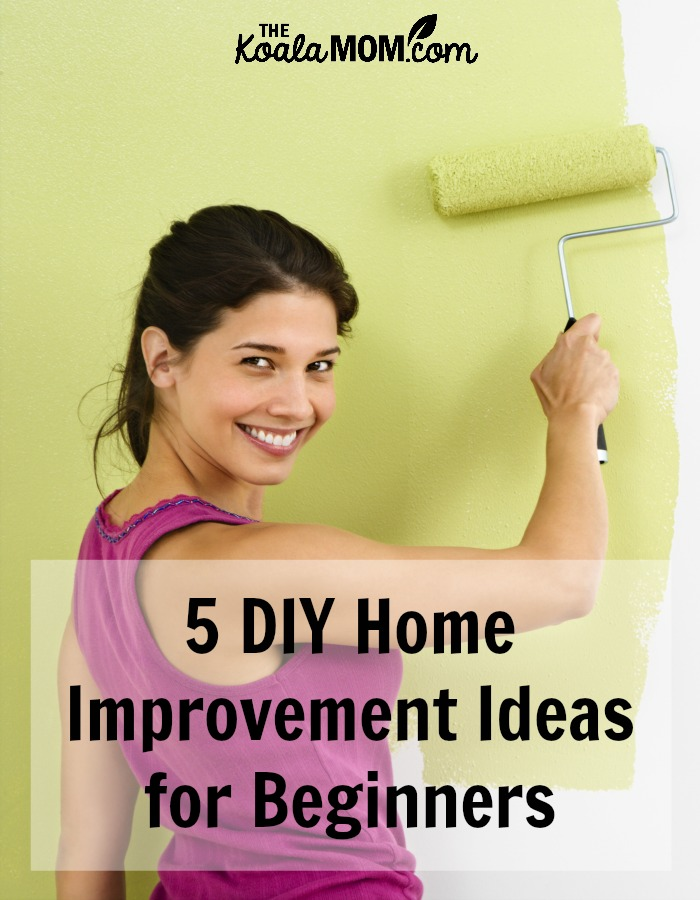 5 DIY Home Improvement Ideas for Beginners