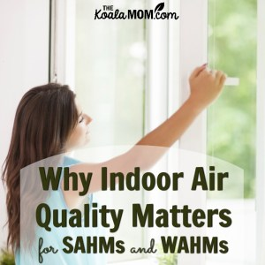 Why Indoor Air Quality Matters for SAHMs and WAHMs