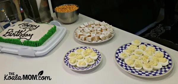 Narnia birthday party food