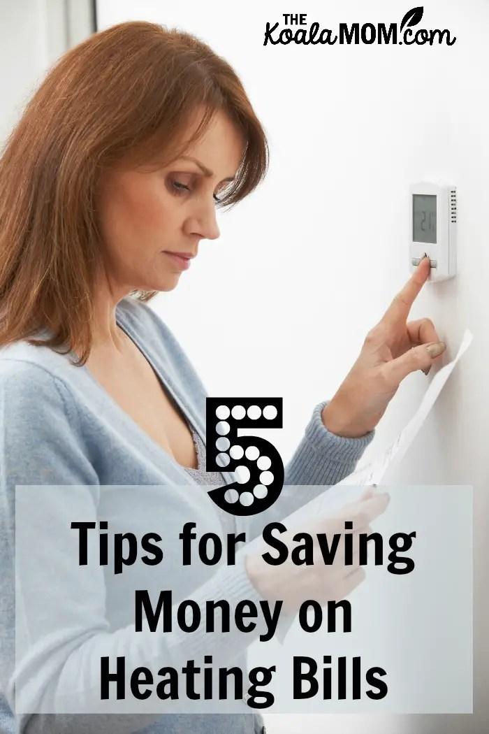 5 Tips for Saving Money on Heating Bills