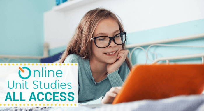 Online Unit Studies All Access
