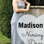 The Madison Nursing Dress from the Momzelle Spring Collection {Giveaway!}