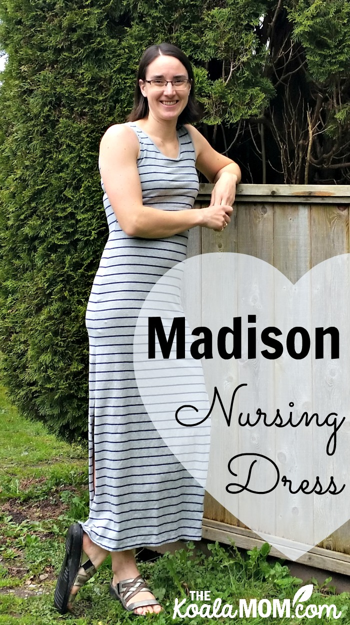 Madison Nursing Dress from the Mozelle 2017 Spring Collection