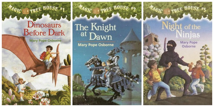 Magic Treehouse Novels by Mary Pope Osborne