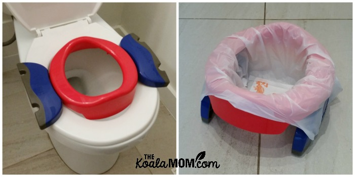 Potette 2-in-1 portable potty