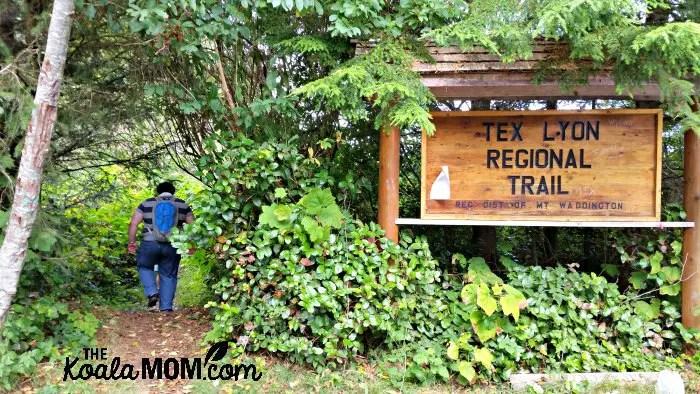 Tex Lyon Regional Trail near Port Hardy on north Vancouver Island
