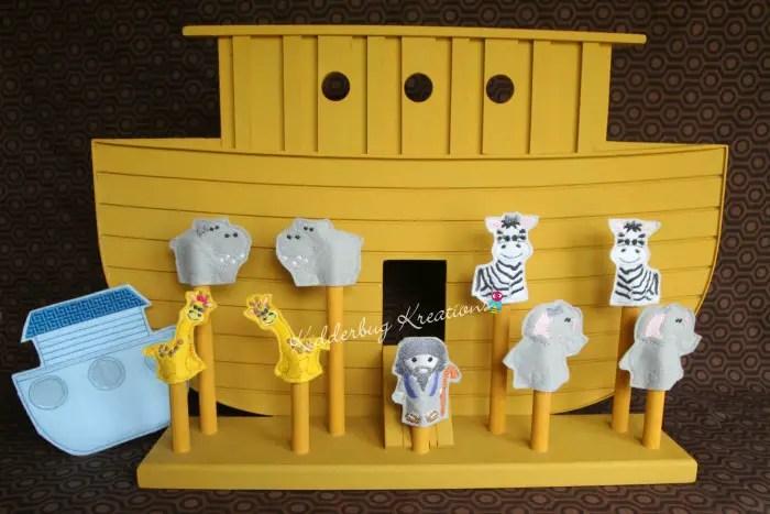 Noah's Ark felt puppet set