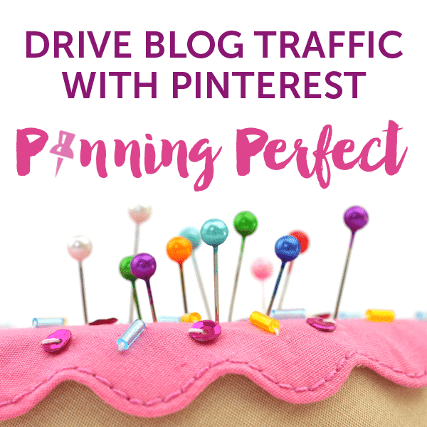 Drive blog traffic with Pinterest - learn how with Pinning Perfect