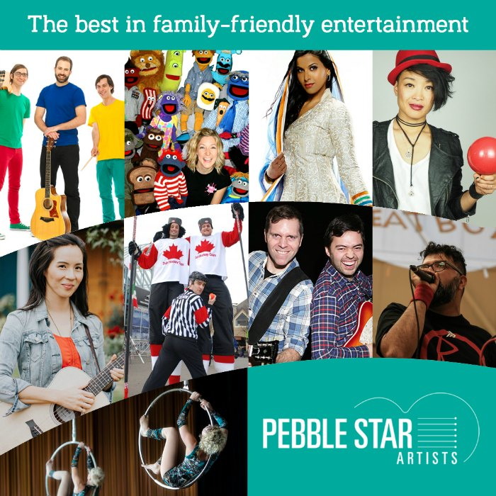 Pebble Star artists' roster