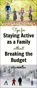 How to Stay Active as a Family without Breaking the Bank