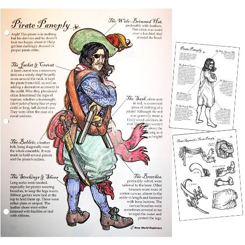 Pirate Panoply Game from Homeschool in the Woods