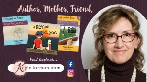 Kayla Jarmon's books help parents talk about tough topics with kids {review}