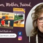Kayla Jarmon's books help parents talk about tough topics with kids {review}