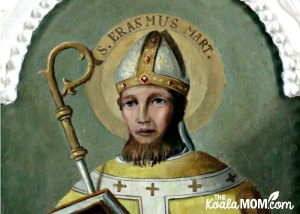 St. Erasmus of Formia, Patron Saint of Women in Labour